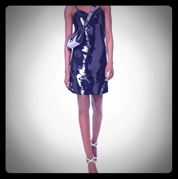 Michael Kors Dresses & Skirts - Black sequined dress
